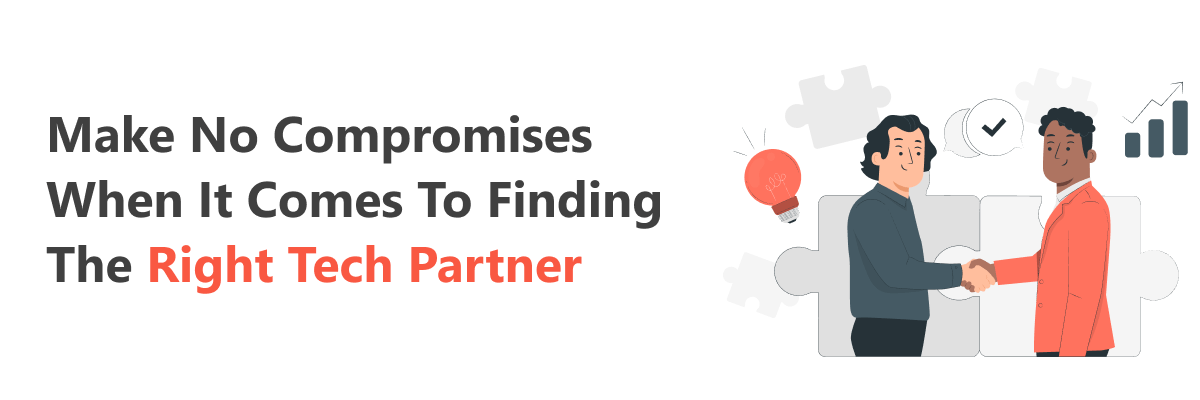 Find a web developer without making any compromises