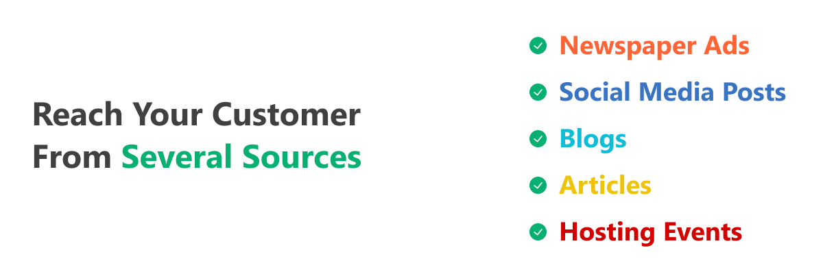 Reach Out to Your Customers